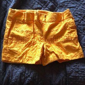 NWOT.  Burnt orange shorts.